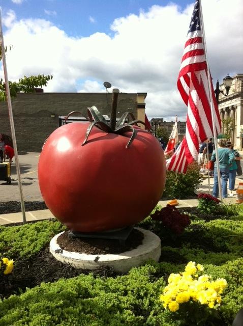 30th annual pittston tomato festival in 2013