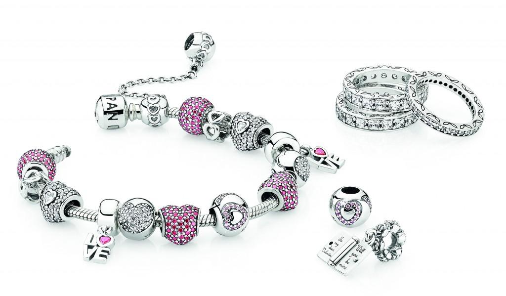 valentines bracelet pandora valentines - Pandora Valentines Bracelet