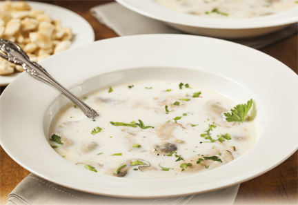 Oyster Spinach Bisque by the Settlers Inn - Happenings Magazine ...