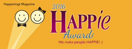 2017 Happie Awards by Happenings Magazine