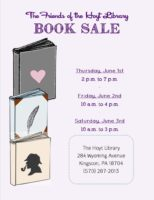 The Friends of the Hoyt Library: Annual Book Sale! @ The Hoyt Library