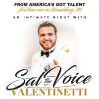 "Sal ""the Voice"" Valentinetti @ Sherman Theater"