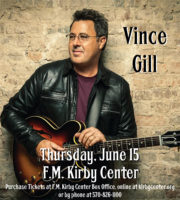 Vince Gill @ FM Kirby Center