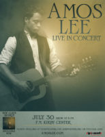 Amos Lee @ F.M. Kirby Center | Wilkes-Barre | Pennsylvania | United States