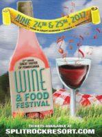 Great Tastes of Pennsylvania Wine & Food Festival @ Split Rock Resort