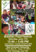 Brazilian Food Festival @ New Covenant Fellowship | Logan | Utah | United States
