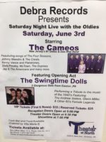 The Cameos with The Swingtime Dolls @ The Theater at North | Scranton | Pennsylvania | United States