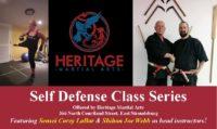 Self Defense Class @ Heritage Martial Arts | East Stroudsburg | Pennsylvania | United States