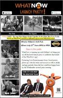WhatNow Launch Party @ Kildares Irish Pub | Scranton | Pennsylvania | United States