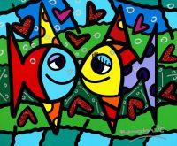 Romero Britto – Brilliant World of Color @ Ocean Galleries | Stone Harbor | New Jersey | United States