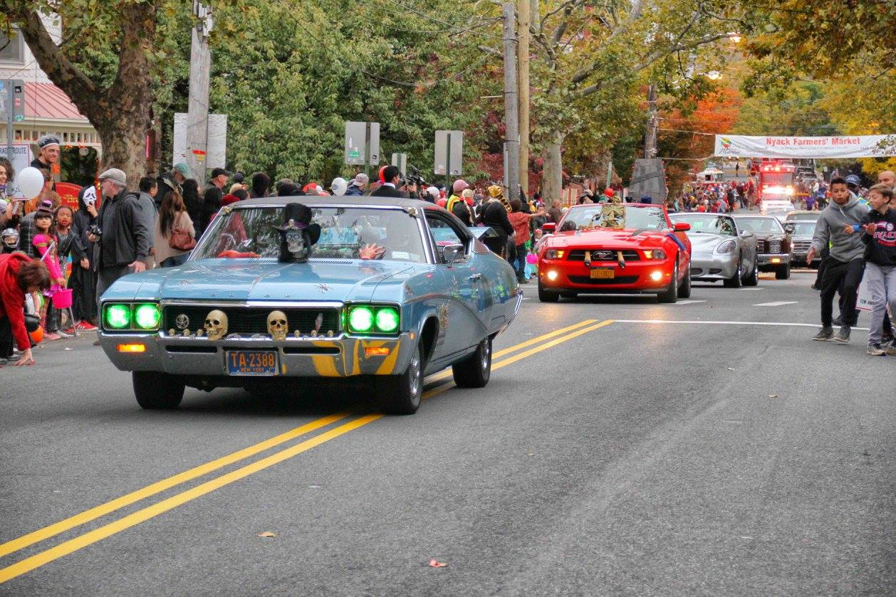 visit the quaint village of nyack for its annual halloween parade